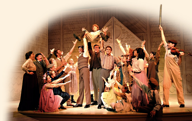 Anne and Gilbert cast ensemble